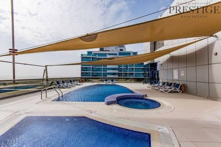 استوديو  للبيع في مدينة دبي الرياضية، دبي - Furnished Studio   Spirit Tower   No balcony