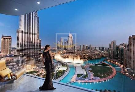 4 Bedroom Apartment for Sale in Downtown Dubai, Dubai - Downtown | Rare 02 Unit | Half Floor PH | Full Fountain View