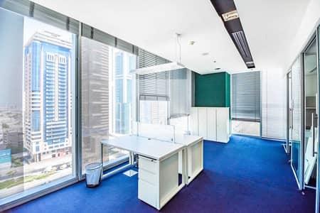 مکتب  للايجار في شارع الشيخ زايد، دبي - Mid Floor | Easily Accessible | Pay in 12 Cheques