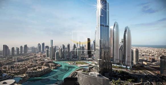 فلیٹ 4 غرف نوم للبيع في وسط مدينة دبي، دبي - Above 50th Floor   Handover 2022   2 Yrs Post Handover   Downtown