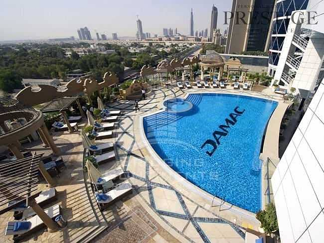 Furnished Studio | Access to Mall - Metro| Park tower DIFC