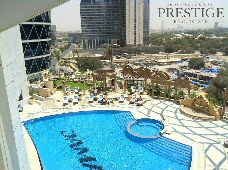 15 Furnished Studio | Access to Mall - Metro| Park tower DIFC