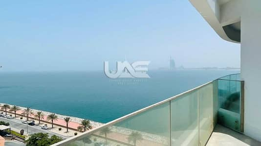 1 Bedroom Apartment for Rent in Palm Jumeirah, Dubai - Full Sea View | 1 BR | Private Beach | Vacant