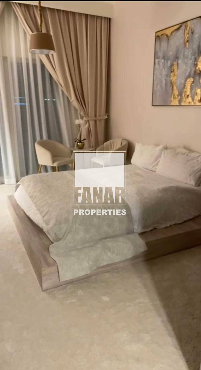 2 Newly Listed |Fully Furnished Studio with 2 Payments