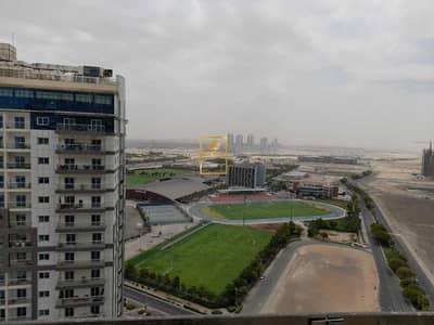 فلیٹ 1 غرفة نوم للبيع في مدينة دبي الرياضية، دبي - Brand New One Bedroom Hall Apartment For Sale In Hera tower - 8% ROI Guaranteed