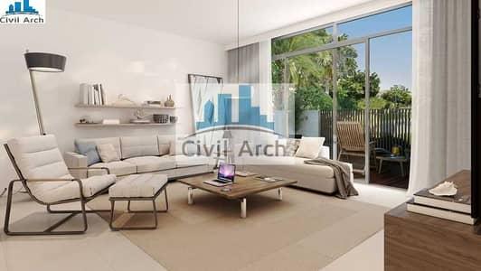 تاون هاوس 3 غرف نوم للبيع في دبي الجنوب، دبي - 3155 SQFT 3BR TH-PAY 25% TO MOVEIN+3 YR PAY+NO DLD-STUNNING TOWNHOUSE