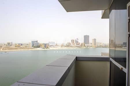 شقة 1 غرفة نوم للايجار في دفن النخیل، رأس الخيمة - Magnificent  Sea View | Largest 1 Bedroom
