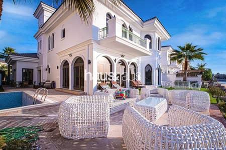 فیلا 5 غرف نوم للايجار في نخلة جميرا، دبي - Upgraded | Furnished | Brand New | Atlantis views