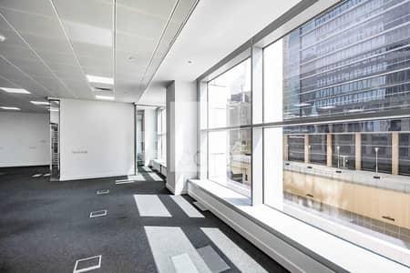 مکتب  للايجار في مركز دبي المالي العالمي، دبي - Premium Office | 7 Parking | Pay in 12 Cheques