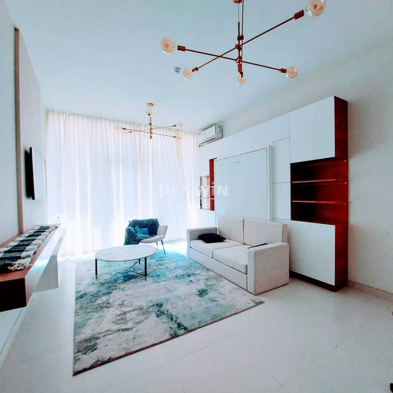 Pay 20%  & Move In | Luxurious  boutique  apartments |Ready move Fully furnished One Bed Convertible to 2 Bedroom   !!!