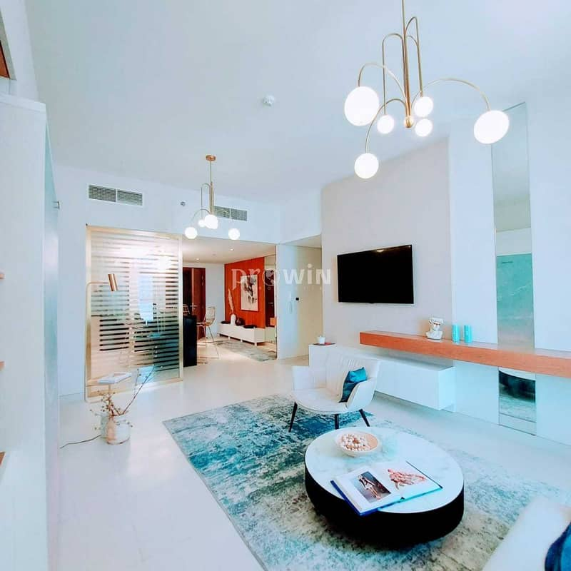 25 Pay 20%  & Move In | Luxurious  boutique  apartments |Ready move Fully furnished One Bed Convertible to 2 Bedroom   !!!