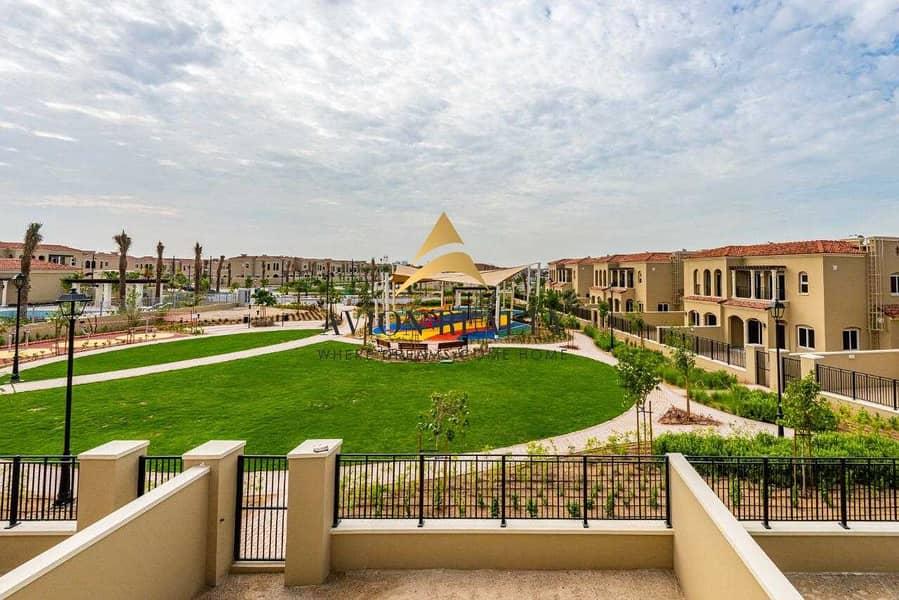 Full  Park Facing  | 3B/R With Maid l Bella Casa