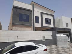 Villa for sale of the most luxurious architectural designs in Ajman, personally finished with high-quality building materials, with the possibility of