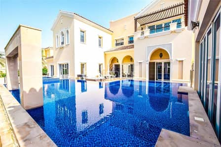 7 Bedroom Villa for Sale in Arabian Ranches, Dubai - Infinity Pool   Extended Upgraded Type D