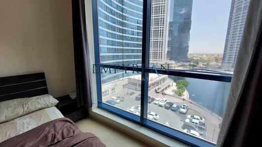 Studio for Rent in Jumeirah Lake Towers (JLT), Dubai - LAKE VIEW/STUDIO/FURNISHED