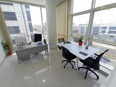 Office for Rent in Bur Dubai, Dubai - Fitted and Furnished Office | Flexible Payment Plans | No Commission