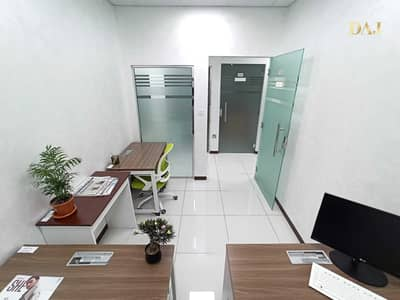 Office for Rent in Bur Dubai, Dubai - Office Spaces from AED 500/- Monthly | Free internet & Dewa | No Commission