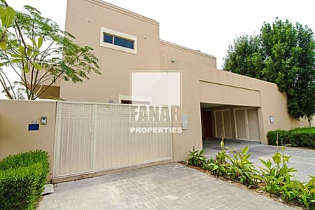 4 Bedroom Villa for Rent in Al Raha Gardens, Abu Dhabi - Vacant   Big Layout 4BR Villa with Private Garden and Pool!