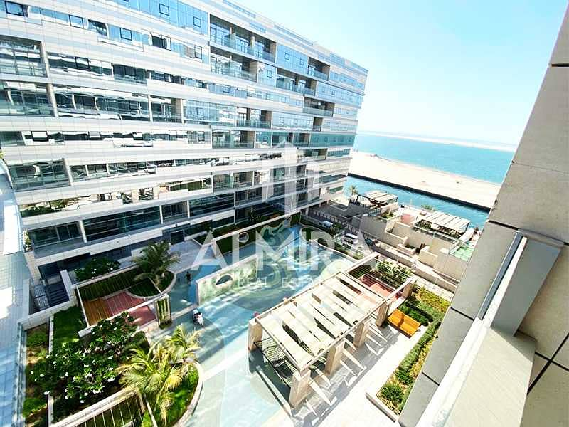 19 Living defined by space 2BR w/ balcony