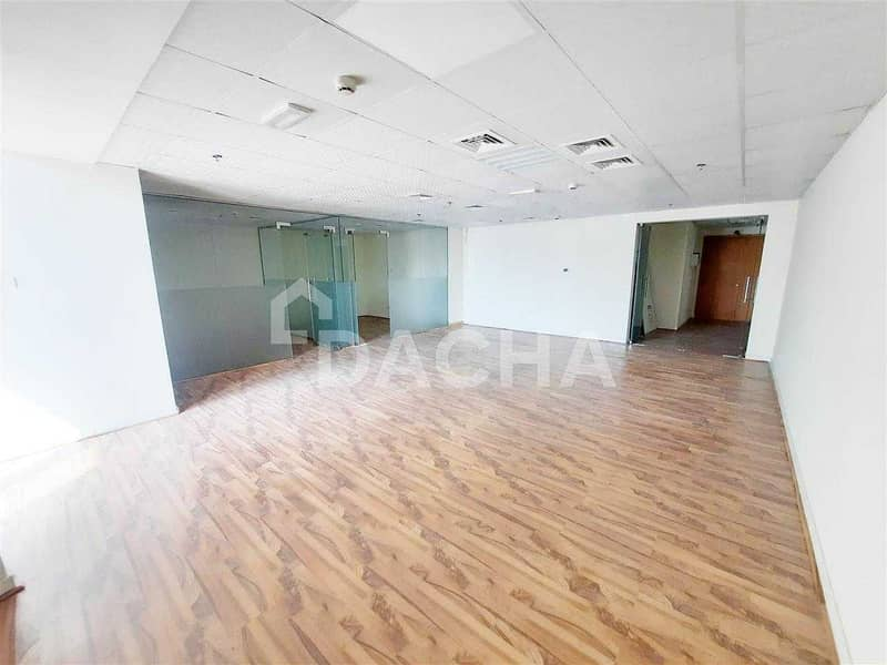 Exclusive Brand New Office / 2 partitions  / Near Metro