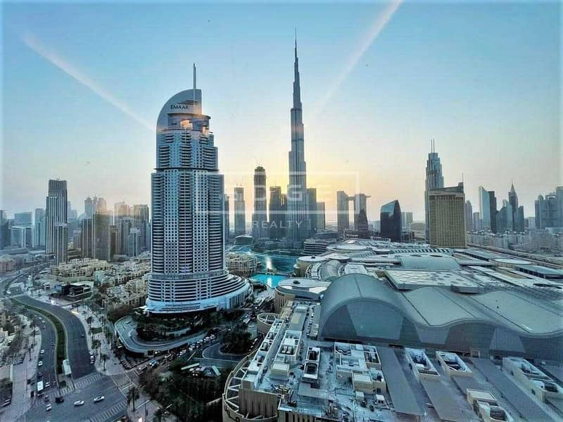 BEST LAYOUT | 2BEDS + STUDY | FULL BURJ VIEW