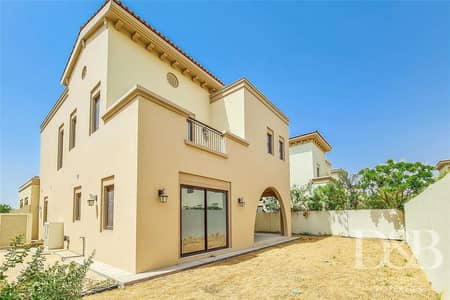 4 Bedroom Villa for Sale in Arabian Ranches 2, Dubai - Vacant - Type 4 - Kitchen Island - Close to Entr