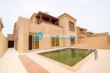 فیلا 5 غرف نوم للبيع في حدائق الجولف في الراحة، أبوظبي - Single Row | Maids Room | Pool and Garden | Vacant