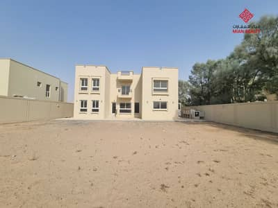 6 Bedroom Villa for Rent in Barashi, Sharjah - 18000 sqft 6 bedrooms stand alone villa with driver room  for rent in Al Barashi in 135,000/year