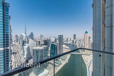 فلیٹ 3 غرف نوم للايجار في الخليج التجاري، دبي - Best Layout & Amazing View | 3 Balconies