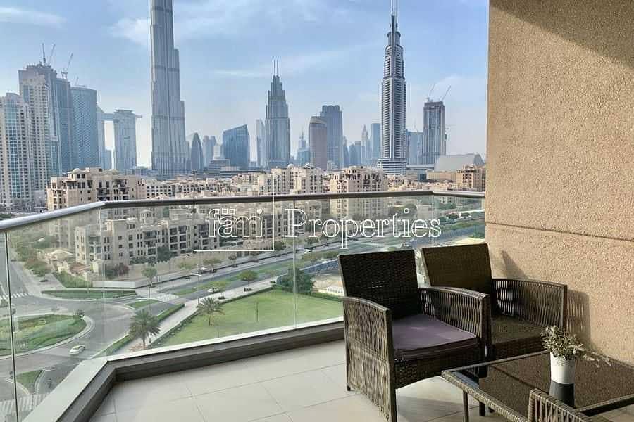 Luminous Apt | Spacious | Burj Khalifa Views