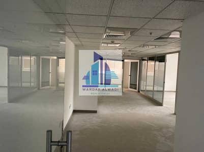 مکتب  للايجار في شارع الشيخ زايد، دبي - AN1) Beautiful Partitions office for rent in Sheikh Zayed Road
