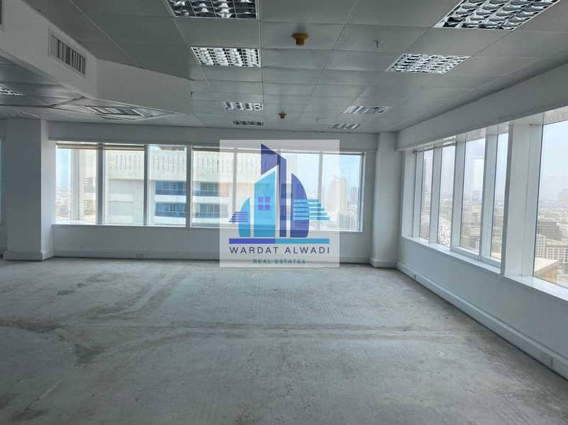 2 AN1) Beautiful Partitions office for rent in Sheikh Zayed Road