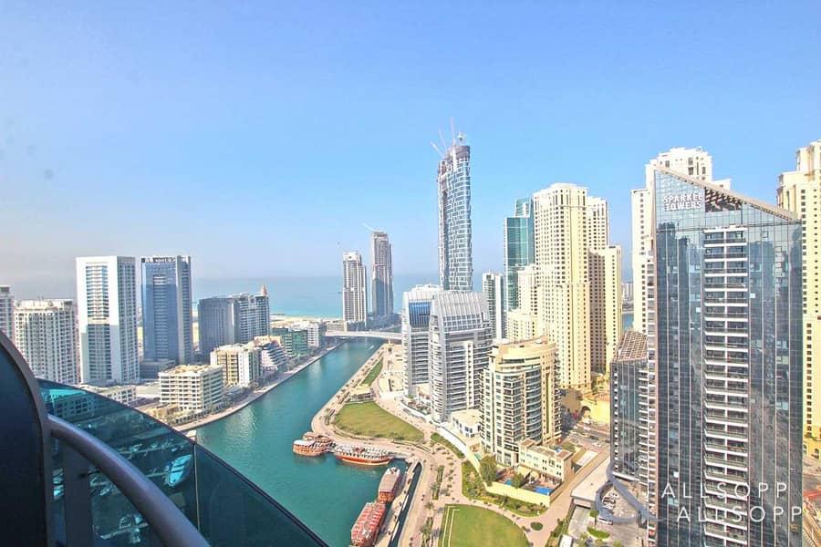 2 Full Marina Views | High Floor | 3 Bedroom