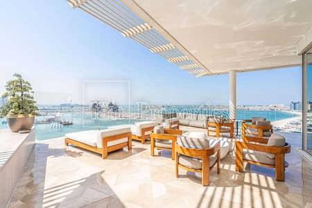 بنتهاوس 4 غرف نوم للبيع في نخلة جميرا، دبي - Spectacular Servised Penthouse In Five Palm
