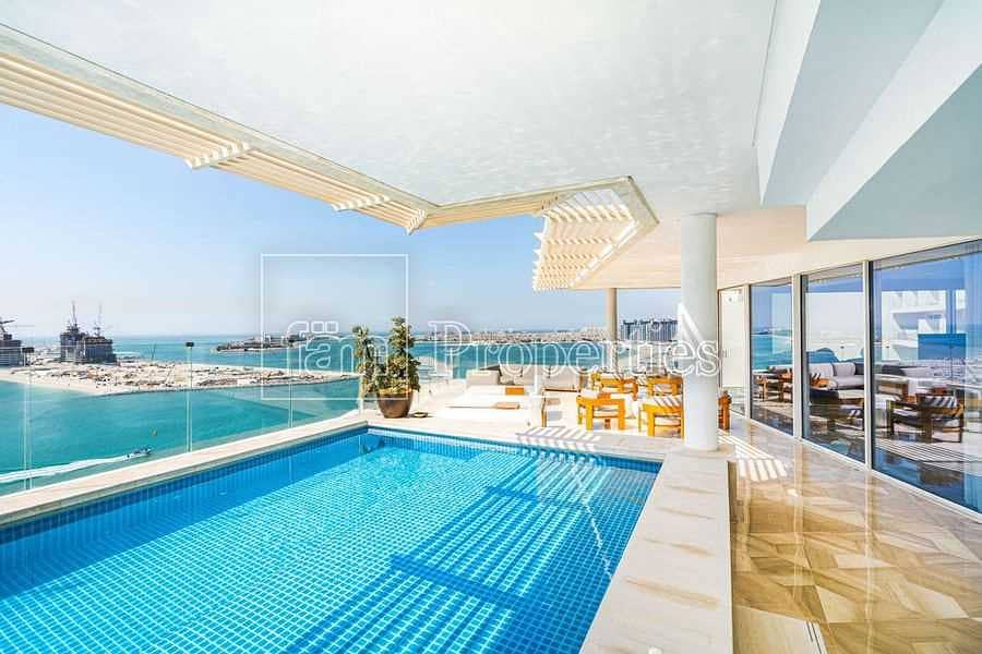 2 Spectacular Servised Penthouse In Five Palm