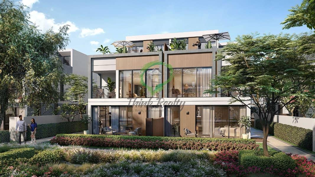 13 Vibrant Lush Green Twin Villas | Water Front Living