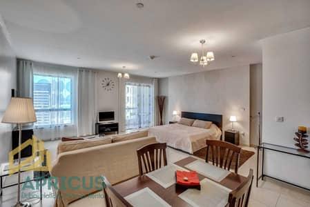 Studio for Rent in Jumeirah Beach Residence (JBR), Dubai - Huge Studio Apartment with Sea View in Murjan 2