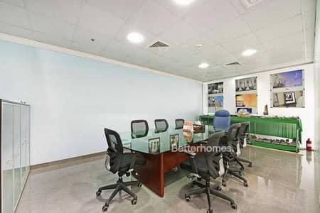 Office for Sale in Jumeirah Lake Towers (JLT), Dubai - Furnished Fitted | Tenanted | High-end Building