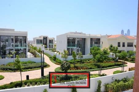 6 Bedroom Villa for Sale in Mohammed Bin Rashid City, Dubai - CORNER PLOT CONTEMPORARY 6BR LANDSCAPED BURJ VIEW