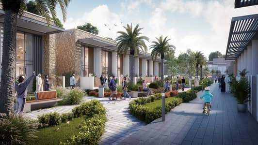 2 Bedroom Villa for Sale in Dubailand, Dubai - Villa for the price of an apartment in Dubai, behind the global village, with monthly installments for delivery