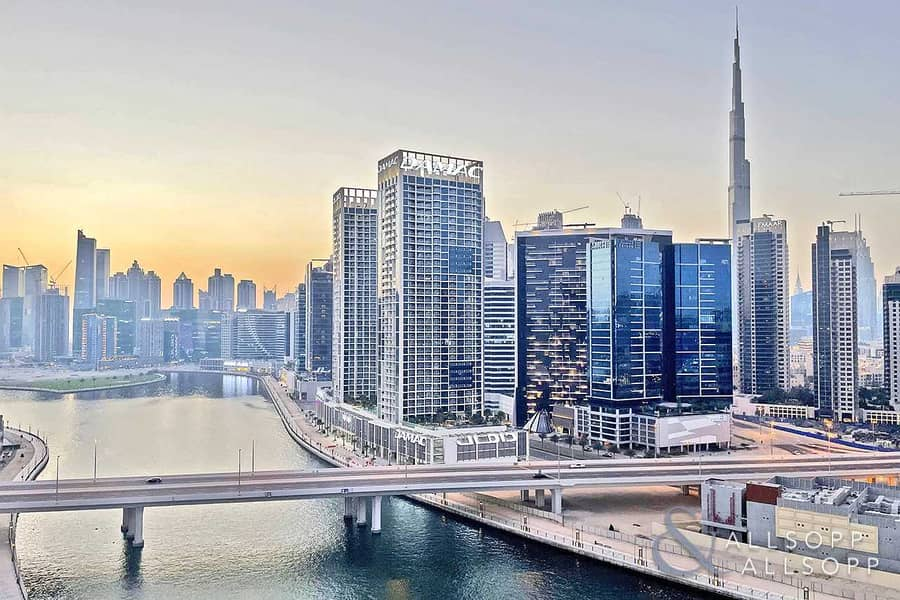 14 Burj Khalifa and Canal View | One Bedroom