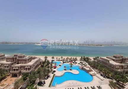 شقة 2 غرفة نوم للايجار في نخلة جميرا، دبي - Vacant| Spacious 2 BR + Maids | See and Palm Views