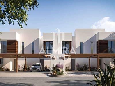 4 Bedroom Villa for Sale in Yas Island, Abu Dhabi - Single row behind the park in Noya Viva