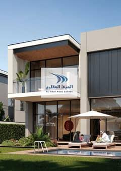 Private swimming pool  4bed villa for sale al furjan