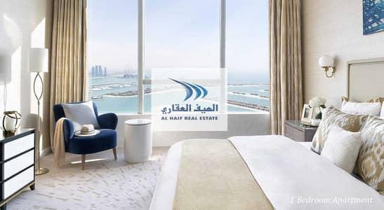 فلیٹ 1 غرفة نوم للبيع في نخلة جميرا، دبي - STUNNINGLY I One Bedroom I Beachfront with an the palm view