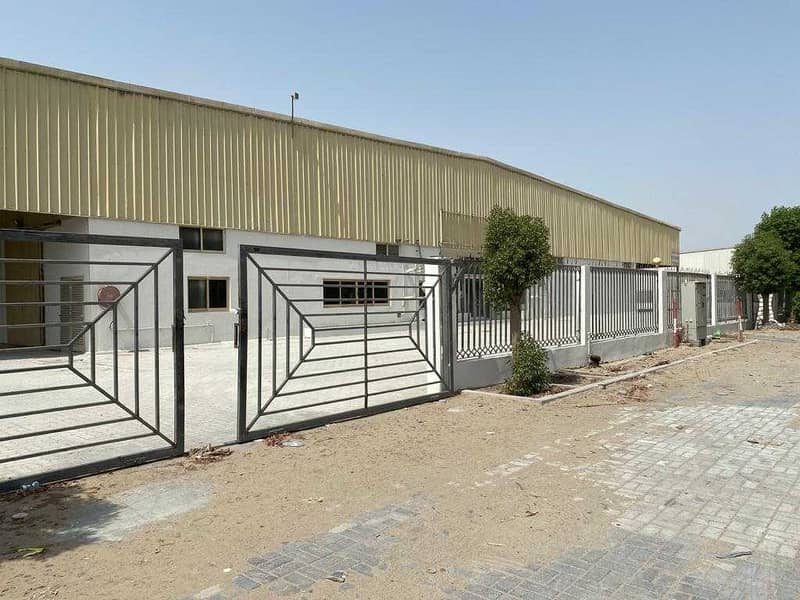 Direct from Owner | Large Warehouse 46211 sqft | Near Expo2020 Site