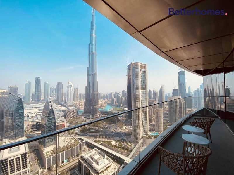 Best offer| Biggest layout | Burj Khalifa view