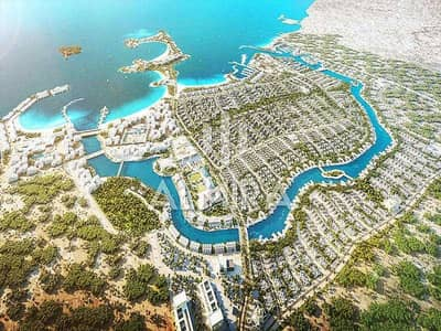 Plot for Sale in Al Jurf, Abu Dhabi - Built your dream home with direct beach access!