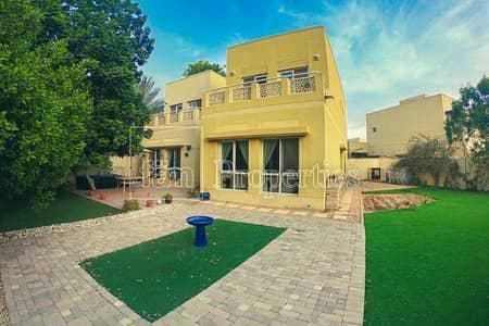 فیلا 4 غرف نوم للايجار في السهول، دبي - Well kept / 4 Beds + Maids / Meadows 2