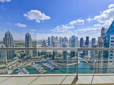 فلیٹ 2 غرفة نوم للبيع في دبي مارينا، دبي - Huge 2BR   2Parking    Full Marina View   Must See